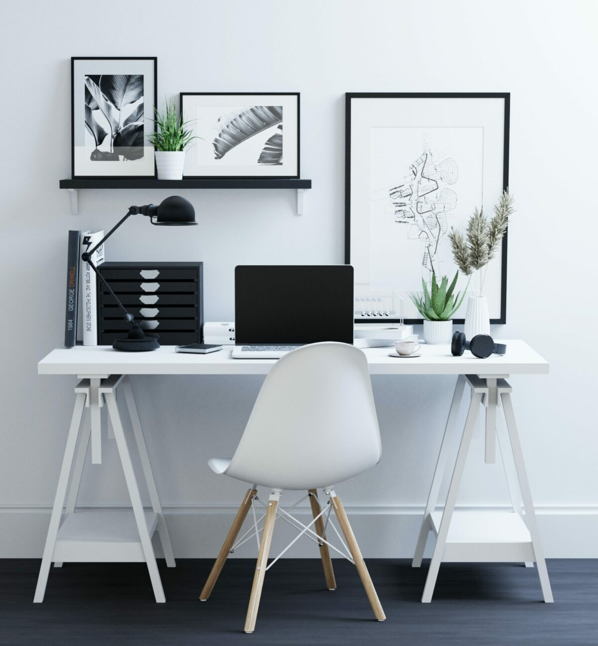 10 easy steps/checklist for an organized home office